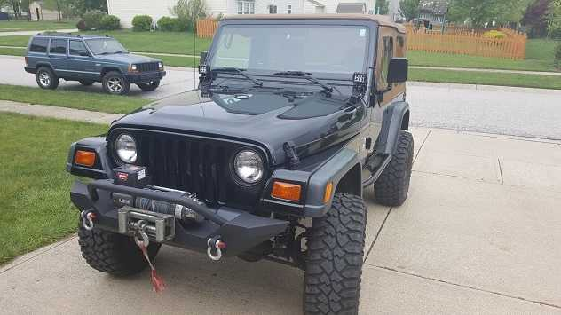 Xenon Headlights 1998 Jeep Wrangler Se