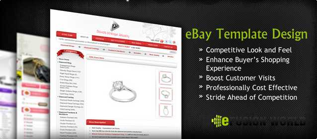 Ebay Store And Listing Template Design To Grow Your Business
