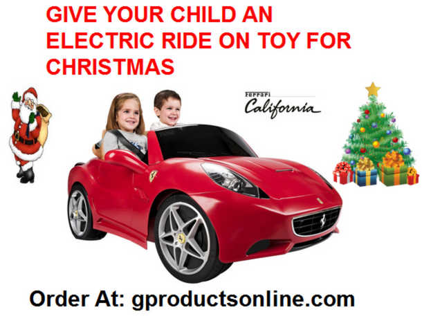 Children's Battery Operated Ride On Cars, Atv's, Motorcycles