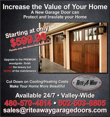 Garage Door Repair 24 / 7 Valleywdie Service