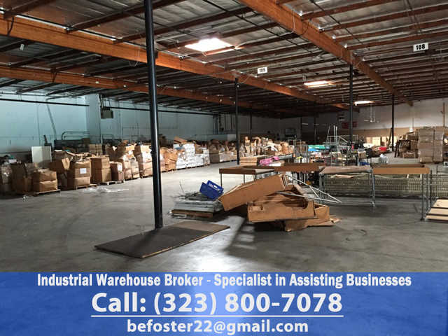 Industrial Warehouse Broker - Specialist In Assisting Businesses