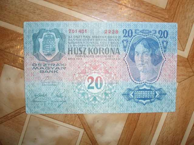 Old Paper Money, Banknotes, Various Countries