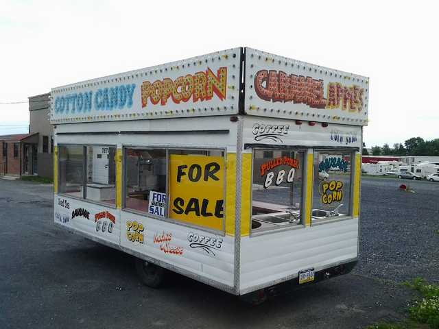 Food Concession Trailer 8'x16'